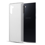 *Sale* Polymer Transparent Hybrid Case for Samsung Galaxy Note 10 - Clear