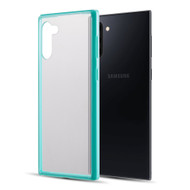 Polymer Transparent Hybrid Case for Samsung Galaxy Note 10 - Teal