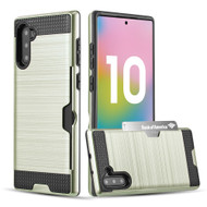Card To Go Hybrid Case for Samsung Galaxy Note 10 - Gold