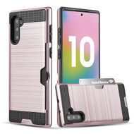 Card To Go Hybrid Case for Samsung Galaxy Note 10 - Rose Gold