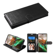 Element Series Book-Style Leather Folio Case for Samsung Galaxy Note 10 - Black