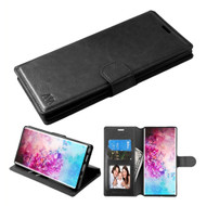 Element Series Book-Style Leather Folio Case for Samsung Galaxy Note 10 Plus - Black