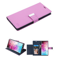 Xtra Series Essential Leather Wallet Stand Case for Samsung Galaxy Note 10 Plus - Purple