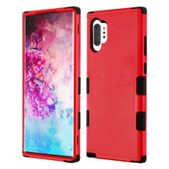 Military Grade Certified TUFF Hybrid Armor Case for Samsung Galaxy Note 10 Plus - Red