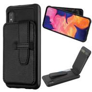 *Sale* Buckle Loop Wallet Case for Samsung Galaxy A10e - Black