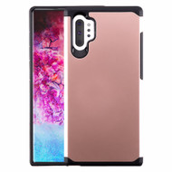 Hybrid Multi-Layer Armor Case for Samsung Galaxy Note 10 Plus - Rose Gold