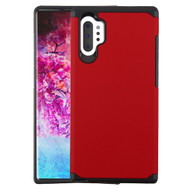 Hybrid Multi-Layer Armor Case for Samsung Galaxy Note 10 Plus - Red