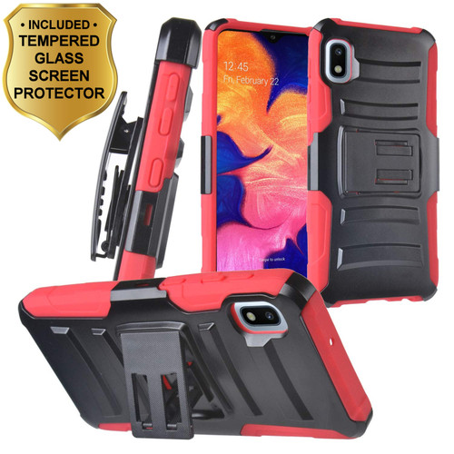 Advanced Armor Hybrid Kickstand Case With Holster And