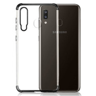 Klarion Crystal Clear Tough Case for Samsung Galaxy A20 - Black
