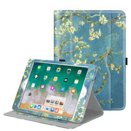 Slim Folding Smart Leather Folio Stand Case for iPad (2018/2017) / iPad Air 2 / iPad Air - Blossoming Trees