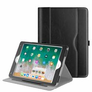 Slim Folding Smart Leather Folio Stand Case for iPad (2018/2017) / iPad Air 2 / iPad Air - Black