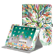 Slim Folding Smart Leather Folio Stand Case for iPad (2018/2017) / iPad Air 2 / iPad Air - Lucky Tree