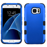 Military Grade Certified TUFF Hybrid Armor Case for Samsung Galaxy S7 - Blue