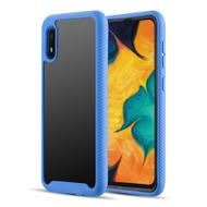 Tough Fusion-X 2-Piece Hybrid Armor Case for Samsung Galaxy A10e - Navy Blue