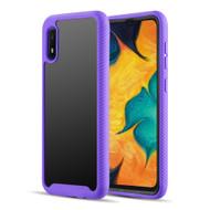 Tough Fusion-X 2-Piece Hybrid Armor Case for Samsung Galaxy A10e - Purple