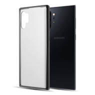 Polymer Transparent Hybrid Case for Samsung Galaxy Note 10 Plus - Black