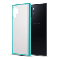 Polymer Transparent Hybrid Case for Samsung Galaxy Note 10 Plus - Teal