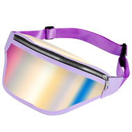 Iridescent Fanny Waist Pack - Purple