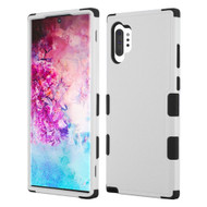 Military Grade Certified TUFF Hybrid Armor Case for Samsung Galaxy Note 10 Plus - Grey
