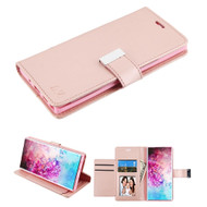 Xtra Series Essential Leather Wallet Stand Case for Samsung Galaxy Note 10 Plus - Rose Gold