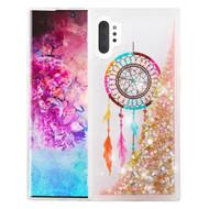 Quicksand Glitter Transparent Case for Samsung Galaxy Note 10 Plus - Dreamcatcher