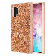 Desire Mosaic Crystal Hybrid Case for Samsung Galaxy Note 10 Plus - Rose Gold