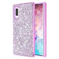 Desire Mosaic Crystal Hybrid Case for Samsung Galaxy Note 10 Plus - Purple