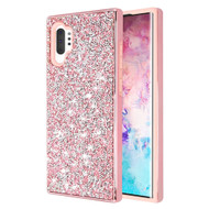 Desire Mosaic Crystal Hybrid Case for Samsung Galaxy Note 10 Plus - Pink