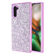 *Sale* Desire Mosaic Crystal Hybrid Case for Samsung Galaxy Note 10 - Purple