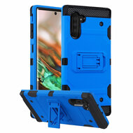 *Sale* Military Grade Certified Storm Tank Hybrid Armor Case with Stand for Samsung Galaxy Note 10 - Blue