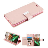 Xtra Series Essential Leather Wallet Stand Case for Samsung Galaxy Note 10 - Rose Gold