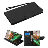 *Sale* Crossgrain Series Diary Leather Wallet Stand Case for Samsung Galaxy Note 10 - Black