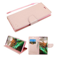 *Sale* Crossgrain Series Diary Leather Wallet Stand Case for Samsung Galaxy Note 10 - Rose Gold