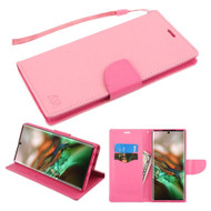 *Sale* Crossgrain Series Diary Leather Wallet Stand Case for Samsung Galaxy Note 10 - Pink