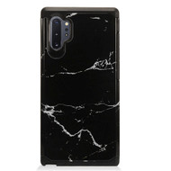 Hybrid Multi-Layer Armor Case for Samsung Galaxy Note 10 Plus - Marble Black