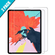 2-Pack HD Premium 2.5D Round Edge Tempered Glass Screen Protector for iPad Pro 12.9 inch (3rd Generation)