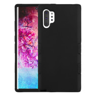Military Grade Certified TUFF Hybrid Armor Case for Samsung Galaxy Note 10 Plus - Black 001
