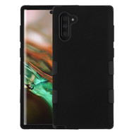 Military Grade Certified TUFF Hybrid Armor Case for Samsung Galaxy Note 10 - Black 001