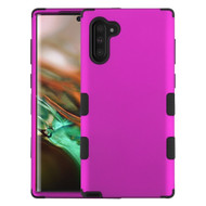 Military Grade Certified TUFF Hybrid Armor Case for Samsung Galaxy Note 10 - Hot Pink