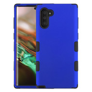 Military Grade Certified TUFF Hybrid Armor Case for Samsung Galaxy Note 10 - Blue 005
