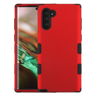 Military Grade Certified TUFF Hybrid Armor Case for Samsung Galaxy Note 10 - Red 006