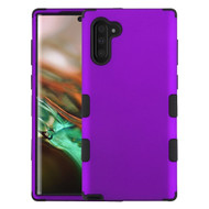 Military Grade Certified TUFF Hybrid Armor Case for Samsung Galaxy Note 10 - Purple