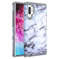 Hybrid Multi-Layer Armor Case for Samsung Galaxy Note 10 Plus - Marble White 251