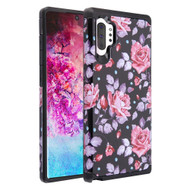 Hybrid Multi-Layer Armor Case for Samsung Galaxy Note 10 Plus - Pinky White Rose