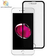 Full-Screen Coverage Frosted Tempered Glass Screen Protector for iPhone 8 Plus / 7 Plus / 6S Plus / 6 Plus - Black