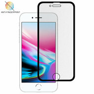 Full-Screen Coverage Frosted Tempered Glass Screen Protector for iPhone 8 / 7 / 6S / 6 - Black