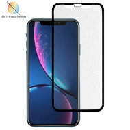 Full-Screen Coverage Frosted Tempered Glass Screen Protector for iPhone 11 / iPhone XR - Black