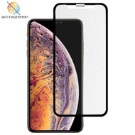 Full-Screen Coverage Frosted Tempered Glass Screen Protector for iPhone 11 Pro Max / iPhone XS Max - Black