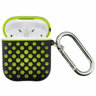 Perforated Hard Shell Protective Case for Apple AirPods - Green