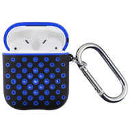 Perforated Hard Shell Protective Case for Apple AirPods - Blue